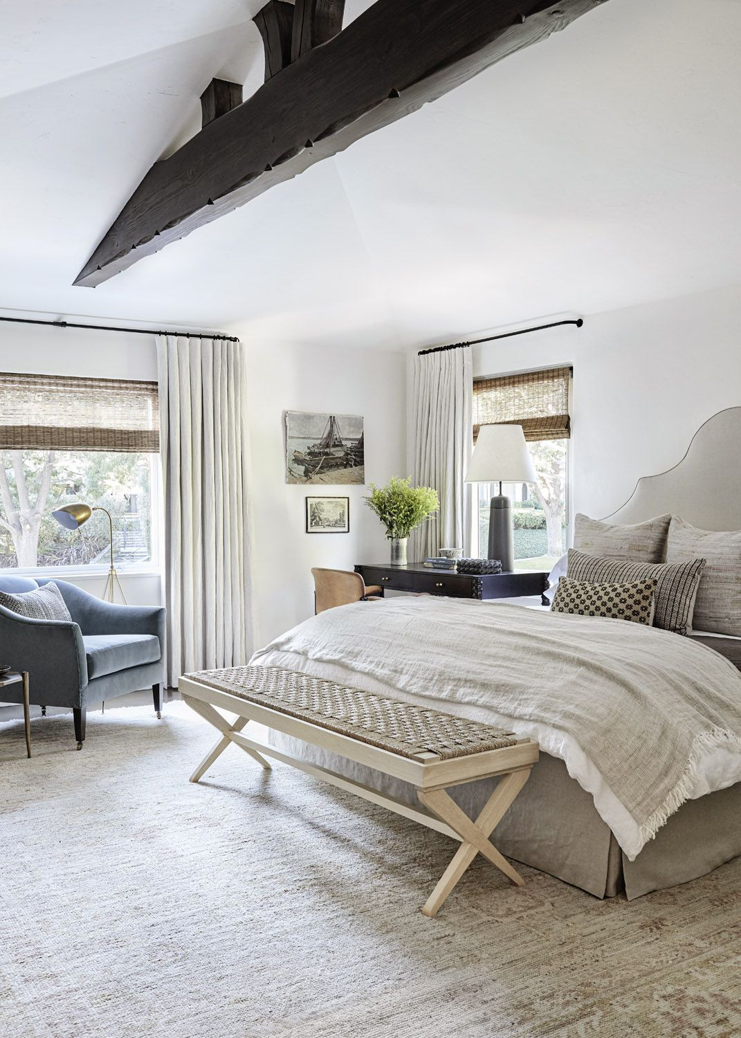 More Than An Afterthought A Soothing Master Suite By Katie Hodges Rue Home Decor Bedroom Bedroom Interior Home Bedroom