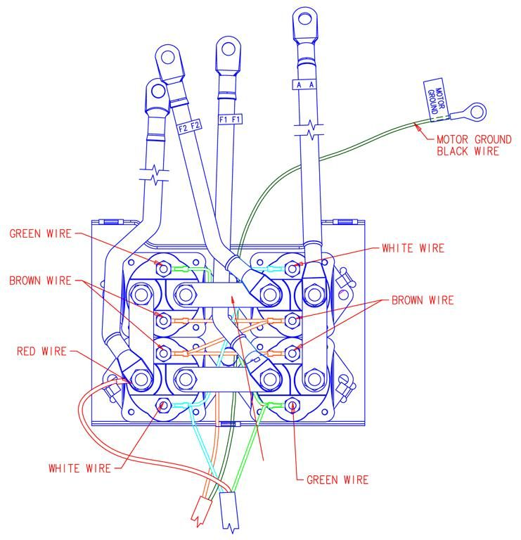 Diagram  Warn M8000 Winch Wiring Diagram Full Version Hd