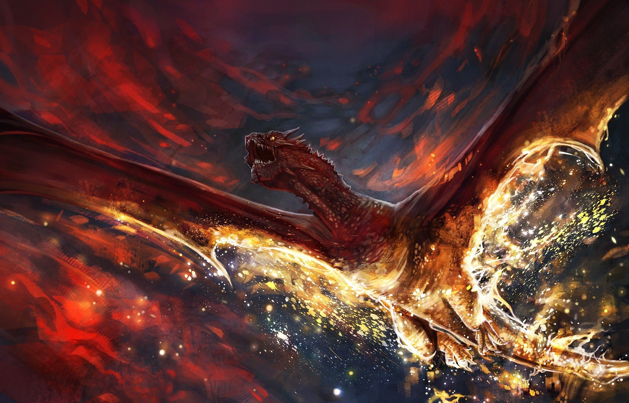 Image Result For Smaug Art The Hobbit Dragon Pictures Middle Earth Art