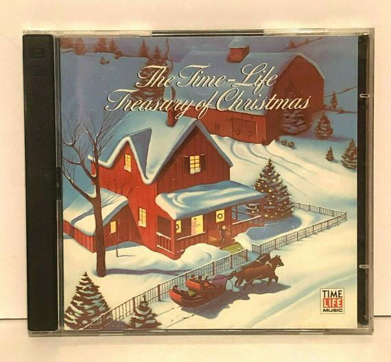 Time Life Treasury of Christmas 1987 45 Songs   Classic christmas songs, Christmas music ...