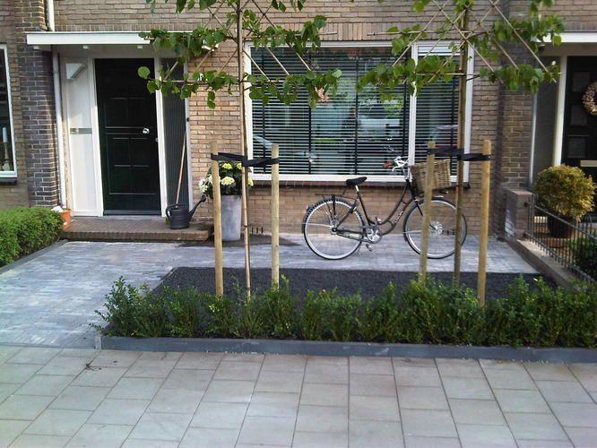Voortuin idee n home pinterest tuin voortuin idee n for Huis in tuin voor ouders