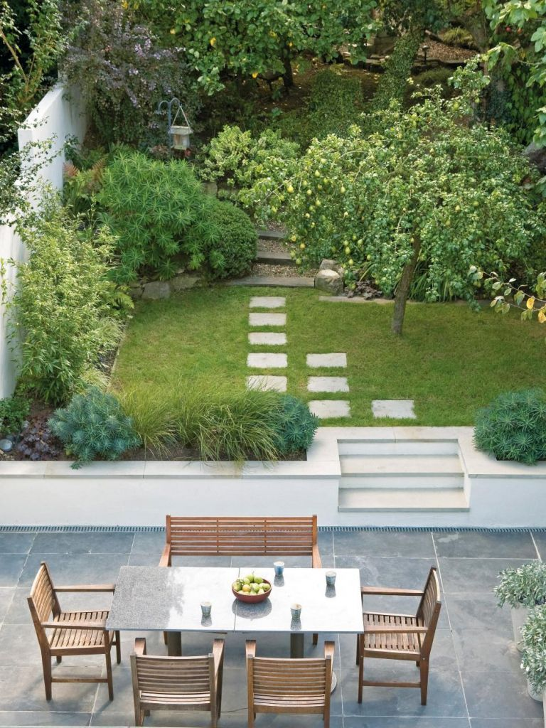 easy and simple landscaping ideas and garden designs  drawing cheap pool landscaping ideas for