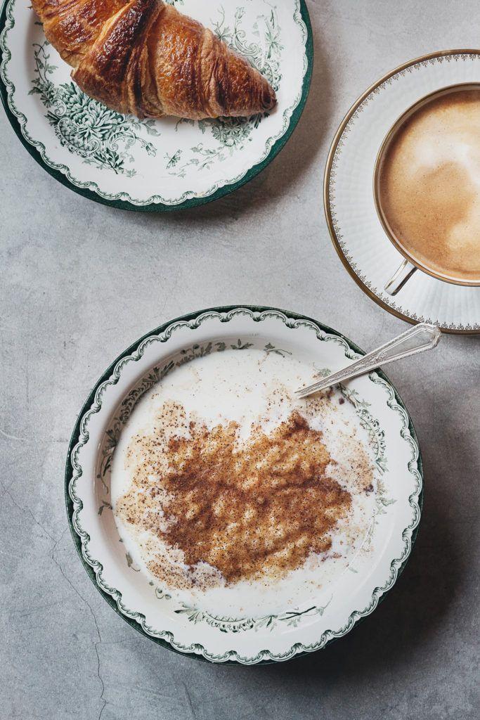 risgrynsgröt med kokosmjölk