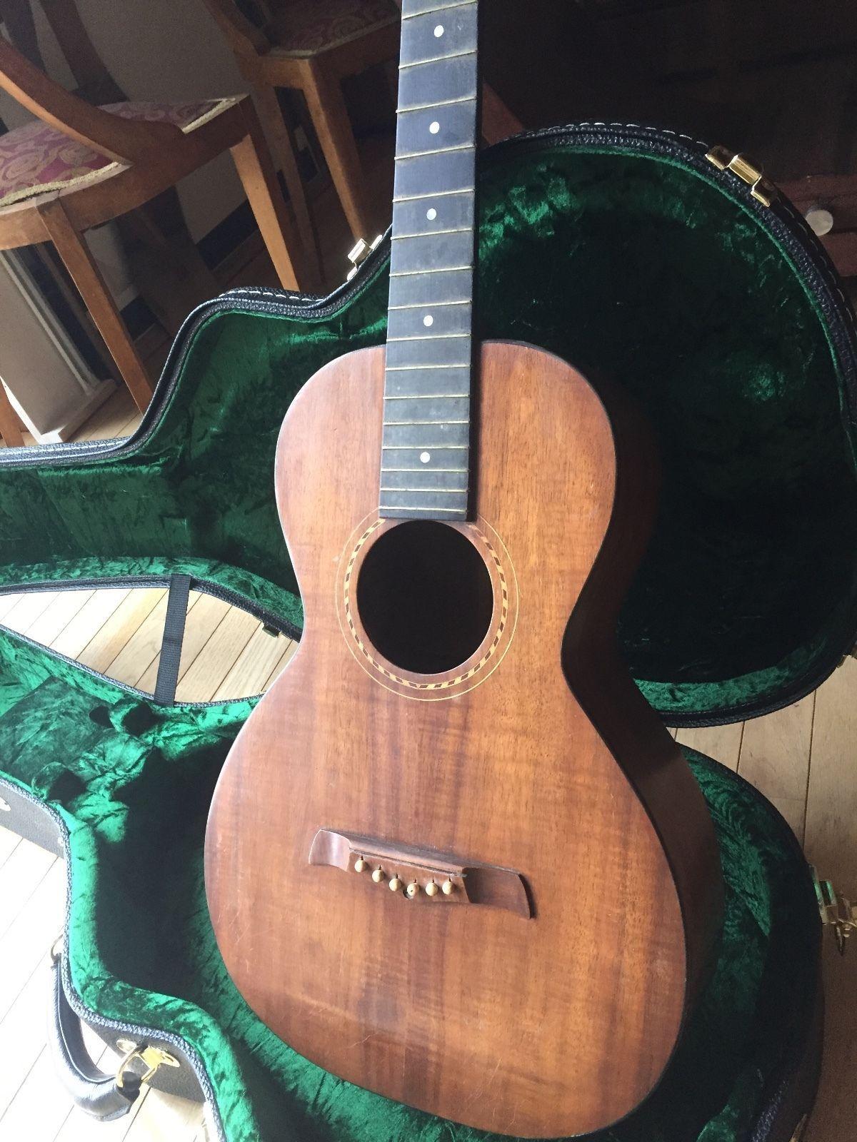 Rare Vintage 1920 s Weissenborn Guitar Style B petitor to Martin 0 18K