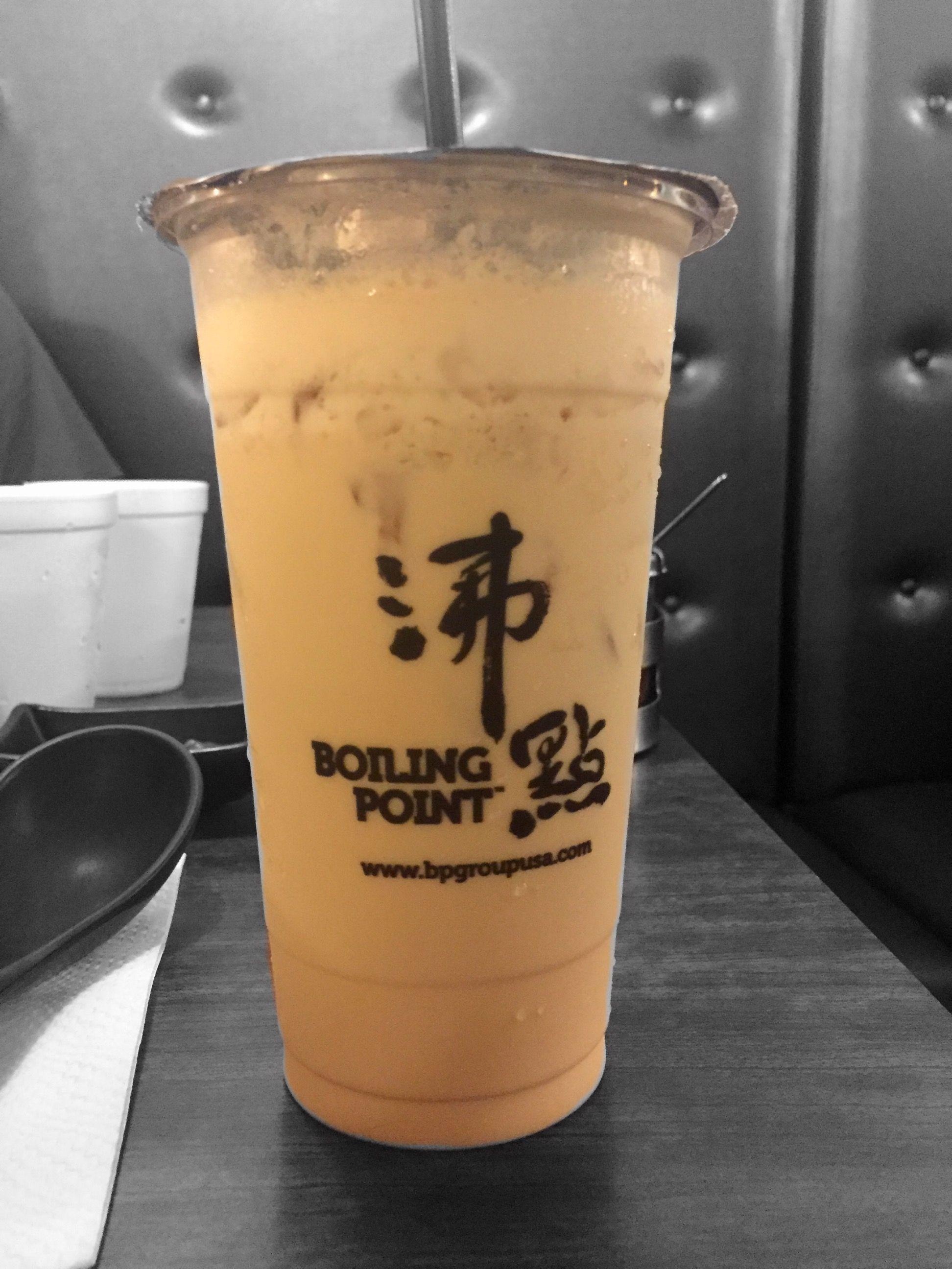Hokkaido milk tea from Boiling Point | Food favorites from
