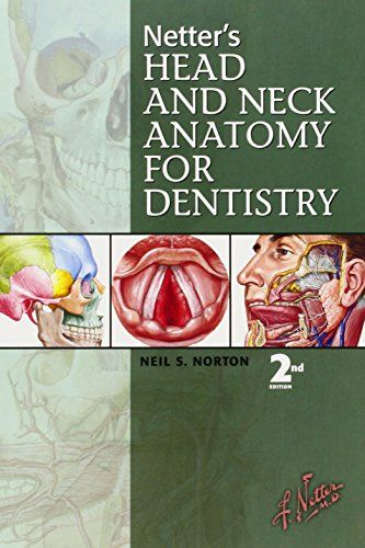 Netters Head And Neck Anatomy For Dentistry By Neil S Norton PhD Uses More Than 600 Full Color Images From The Netter Collection To Richly Depi