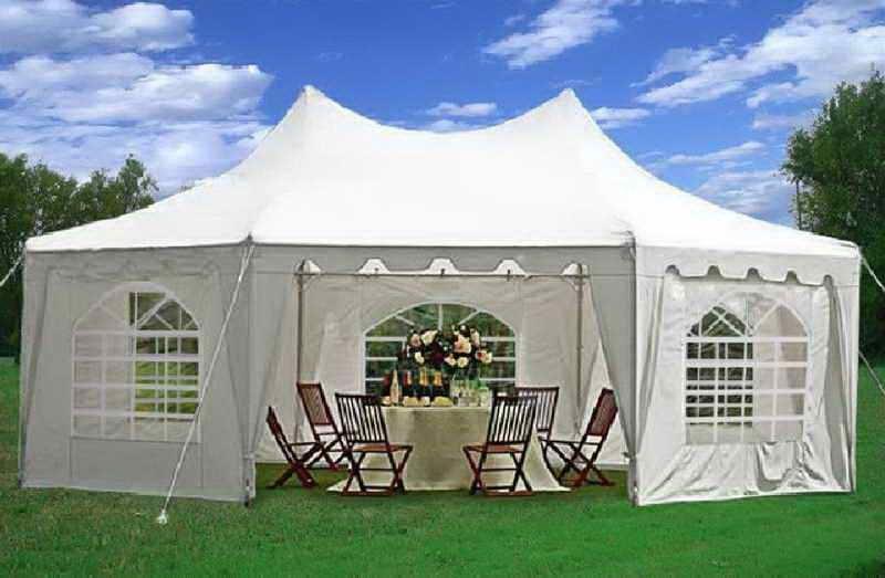 Heavy Duty Party Tent 20x30 Lamps
