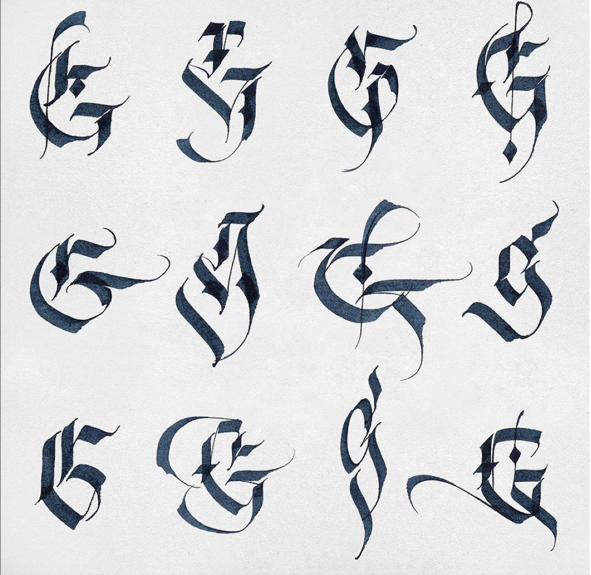 Magnificent gs by alexshimanov the options with honestlettering are endless