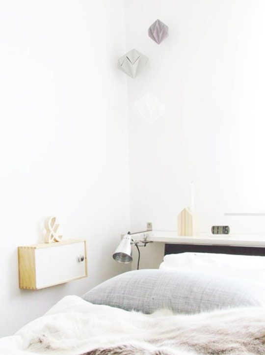 Small Space Solutions 9 Space-Saving Nightstand Ideas Nightstands