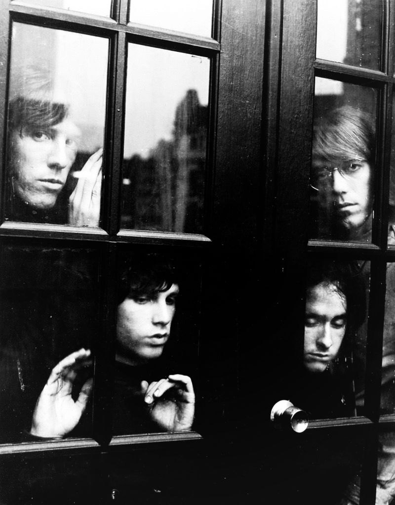 The Doors photographed while in New York City by Joel Brodsky, 1967.