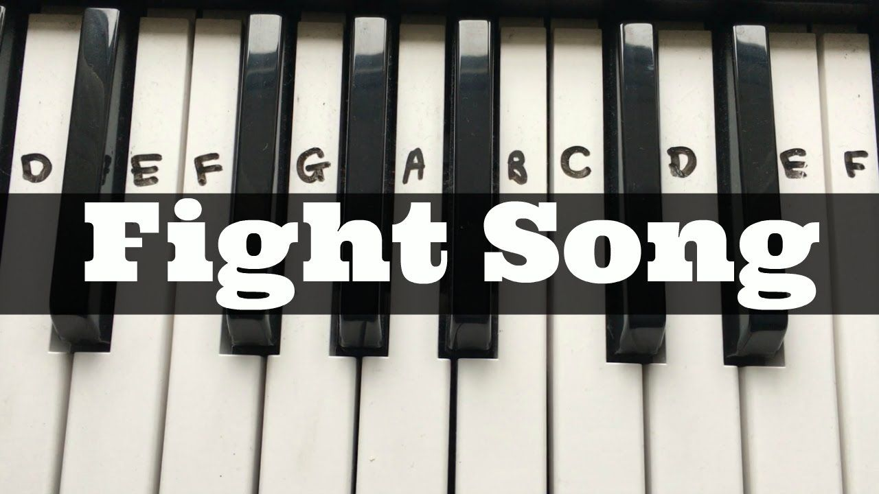 Fight Song Rachel Platten Easy Keyboard Tutorial With Notes