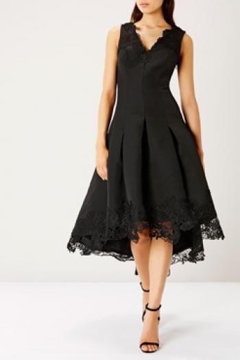 Coast - Messina Lace Trimmed Dress Ltd - https://clickmylook.com/product/messina-lace-trimmed-dress-ltd/6548493