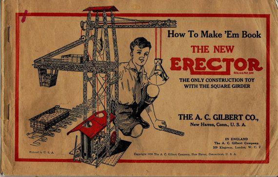 The New Erector How To Make Em Book Books