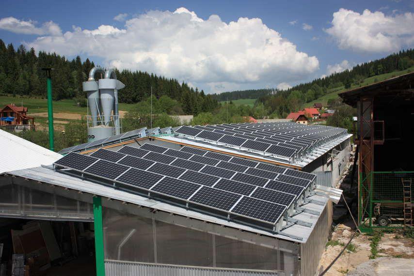 Novot Zilinsky Kraj Roof Solar Panel Solar Panels Photovoltaic