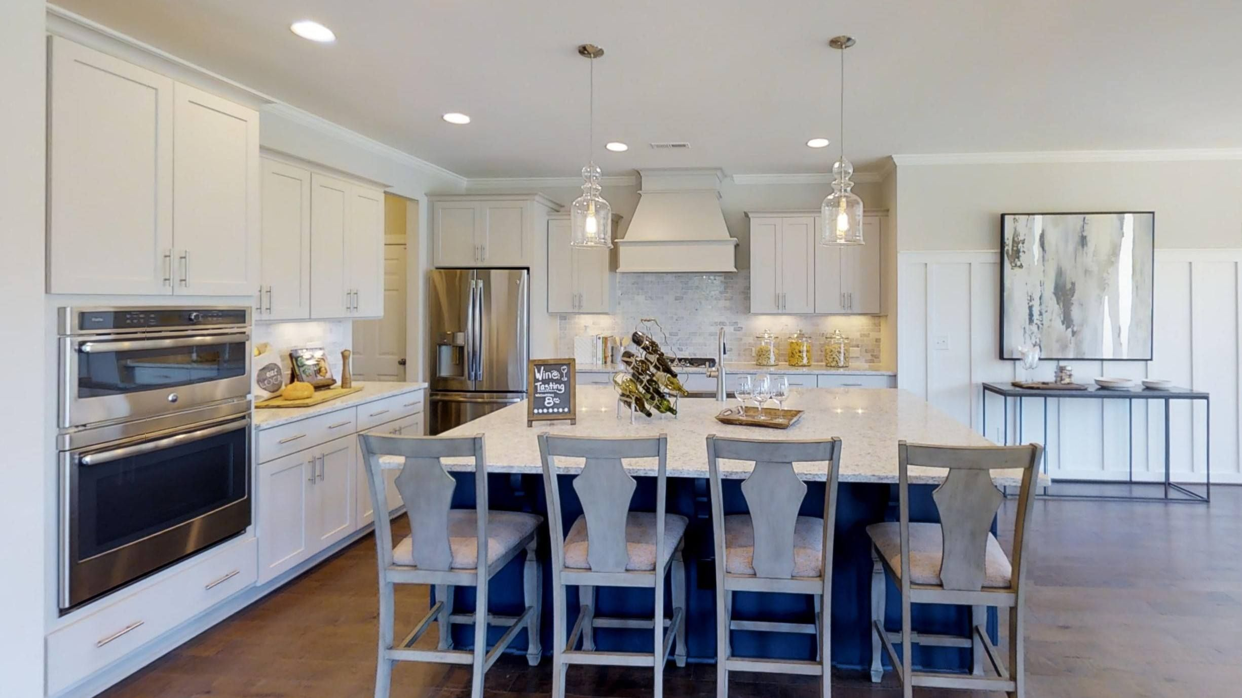 Hensley The Villas Collection Hhhunt Homes In Holly Springs Nc