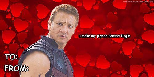 Avengers Valentines: Hawkeye