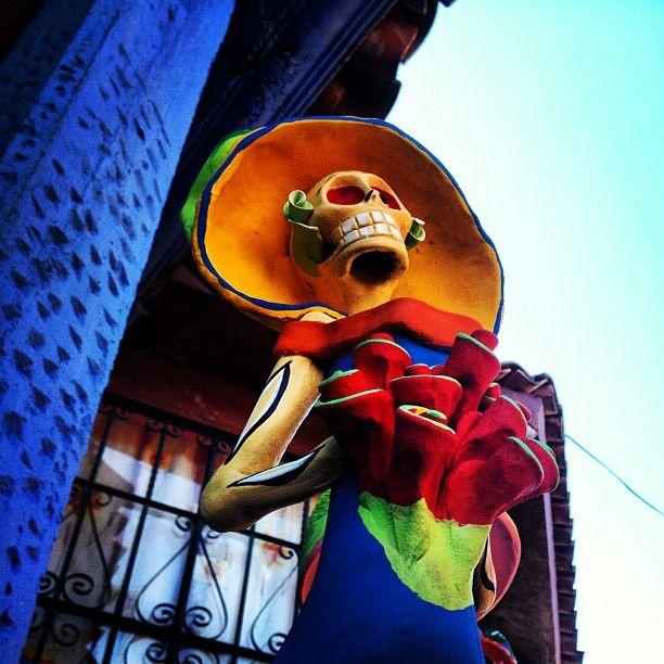 Fotografía de @turulo Vía Instagram, participante en el Homenaje #TradicionESmx para el reto semanal #CalaverasDEmx