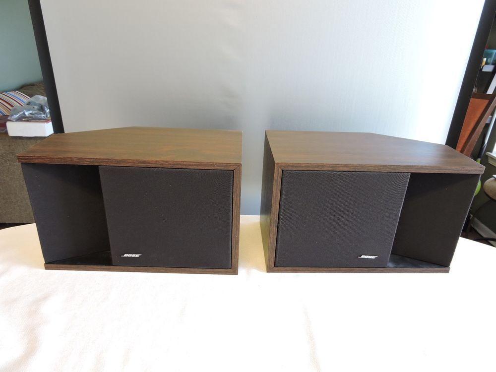 Bose 201 Series II Direct Reflecting With Free Field Tweeter Bookshelf Speakers
