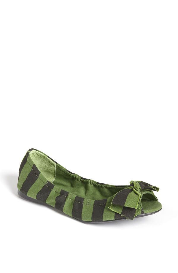 I need these green flats.