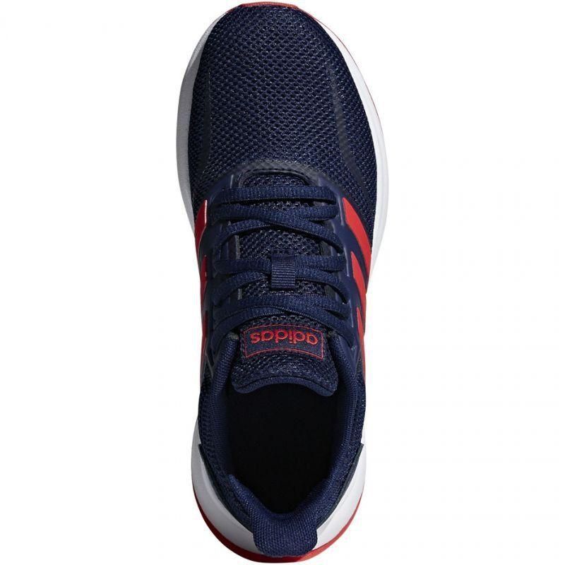 Buty dla dzieci do biegania adidas Falcon K niebieskie