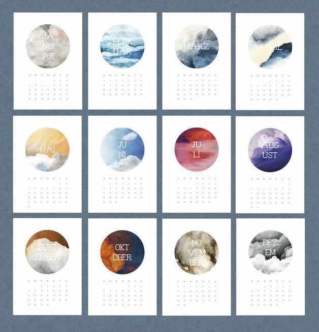 wandkalender kalender 2015 zum ausdrucken pdf ein designerst ck von matrjoschki bei. Black Bedroom Furniture Sets. Home Design Ideas