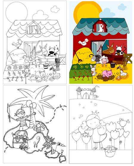 Los Dibujos Para Colorear Mas Creativos Proyecto Los Piratas