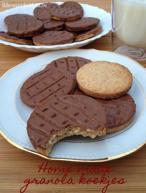 volkoren koekjes bakken