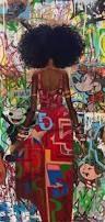 Resultado de imagen de urban display artwork hair