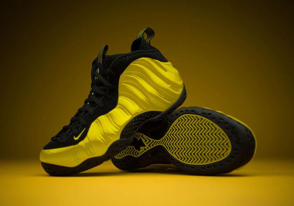 "meet b649c c2210  sneakers  news Nike Air Foamposite One ""Optic Yellow"" Releases This Weekend"