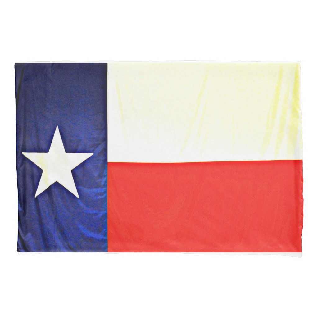 Texas Flag Standard Pillow Case Texas Flags Flag Pillows