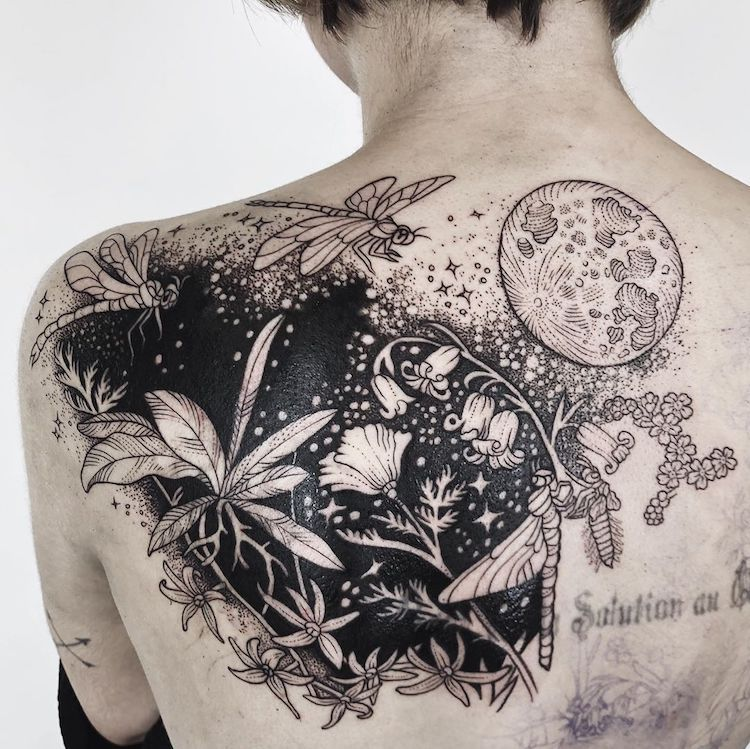 Photo of Delicately Inked Tattoos Looks Like Enchanting Tales About Nature's Bountiful Beauty