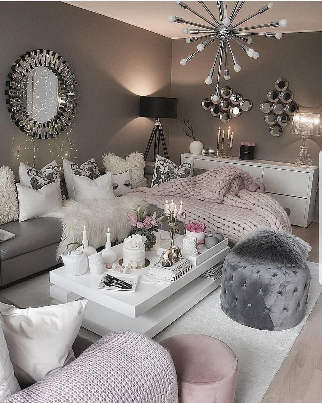 Luxurious Tumblr Living Room Decor