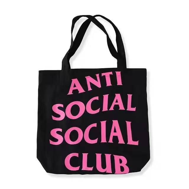 9a0b3259924a Anti Social Social Club Tote Bag. An easy lightweight piece to casually  stroll out with. Color  Black Size  One Size