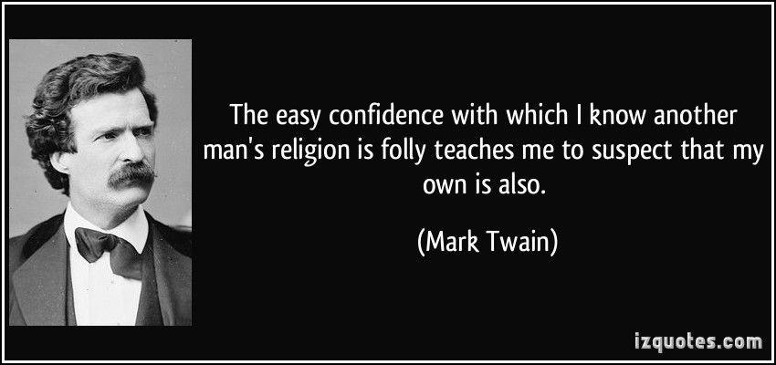 mark twain humorist