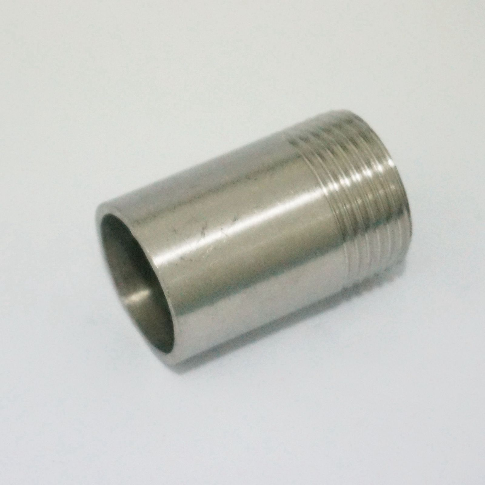 Lot quot bsp male thread length mm stainless steel