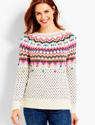 Carnival Fair Isle Sweater