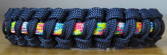 Custom Gutted Paracord Survival Bracelets w/Alloy Buckle. $10.00