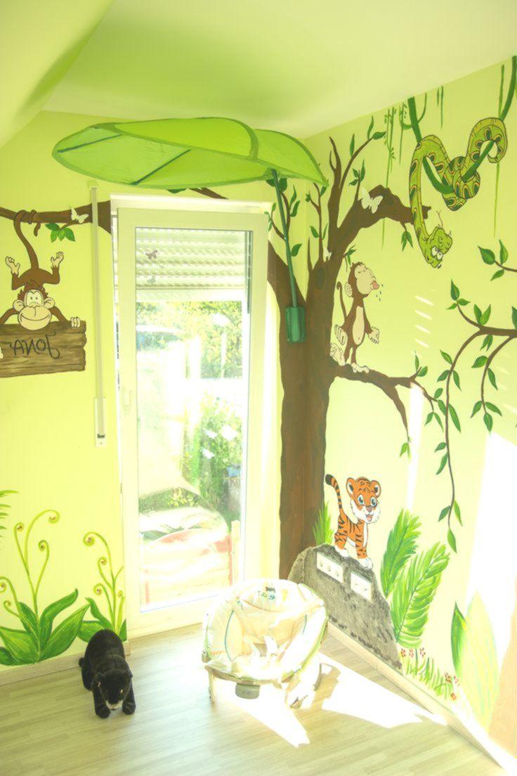 wandgestaltung kinderzimmer dschungel Kinderzimmer
