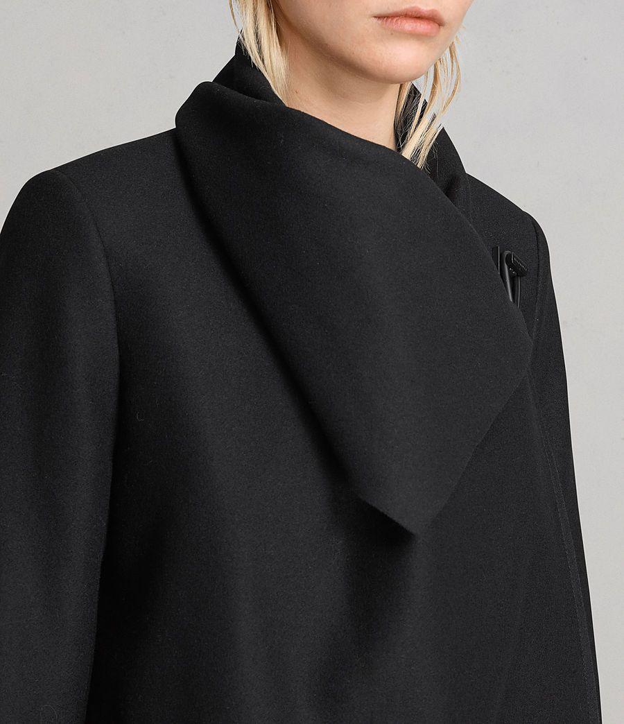 092fa312b97 ALLSAINTS US: Womens City Monument Coat (black)   Wishlist in 2019 ...