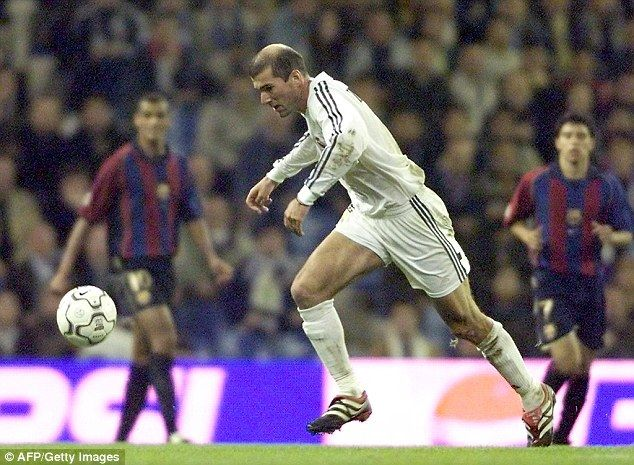 Zidane and Enrique set to resume their Clasico rivalry Zinedine - soccer player resume