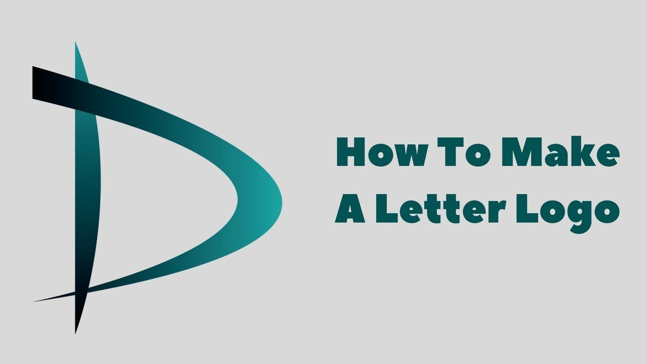 How To Make A Logo With Adobe Illustrator Cc  Letter D