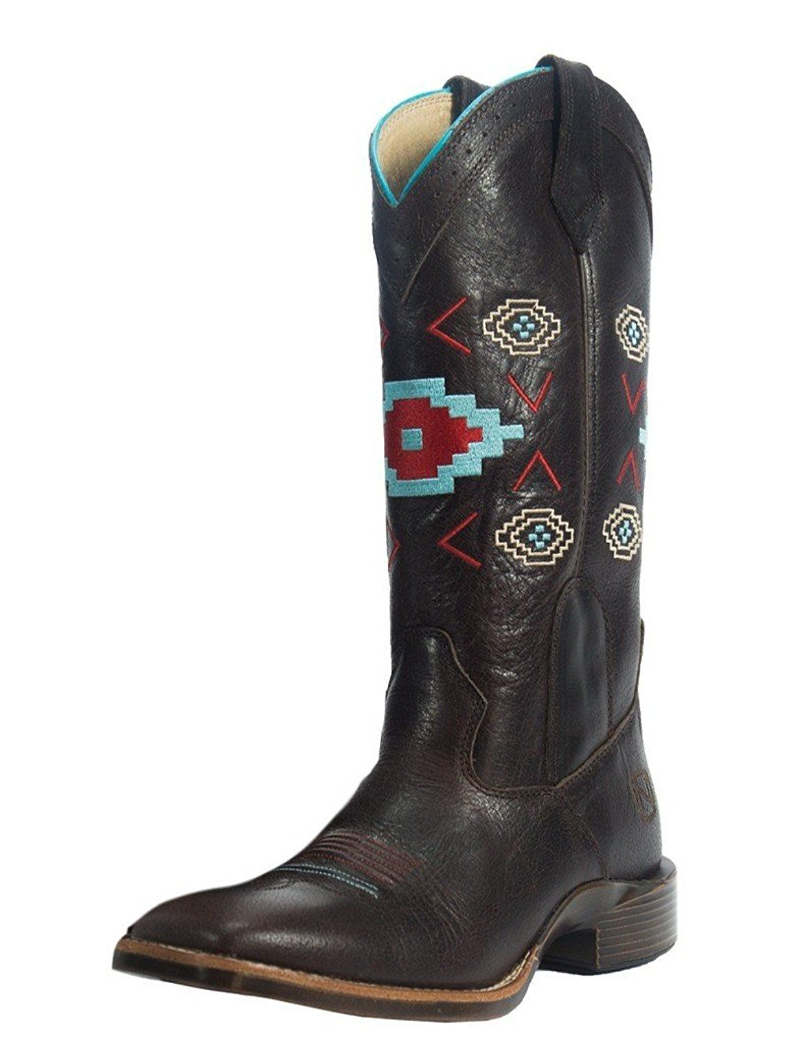 98024dd9bcd All Around Ladies Square Toe Boot Aztec ** Check out the image by ...