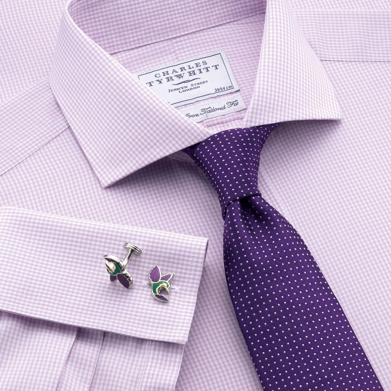 Fashion Slim Men/'s Tie Mens Bow Tie Light Purple Lilac Light Lilac