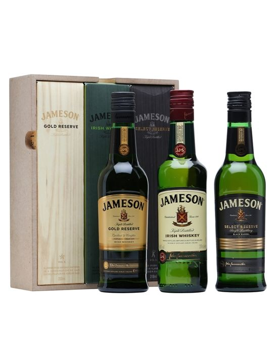 Jameson Trilogy Gift Set - 3x20cl : The Whisky Exchange
