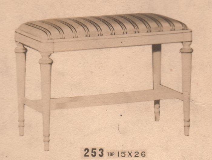 Carrollton Furniture Factory Items
