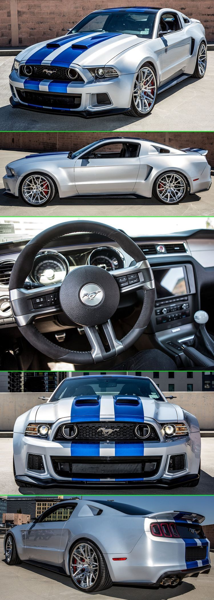 Interior Of Mustang Ford Mustang Mustang Shelby Mustang Cars