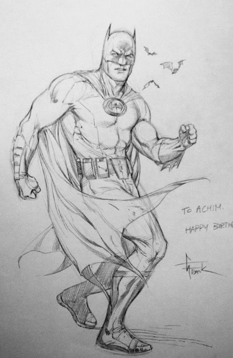 Ungoliantschilde — some penciled artwork by Gary Frank.