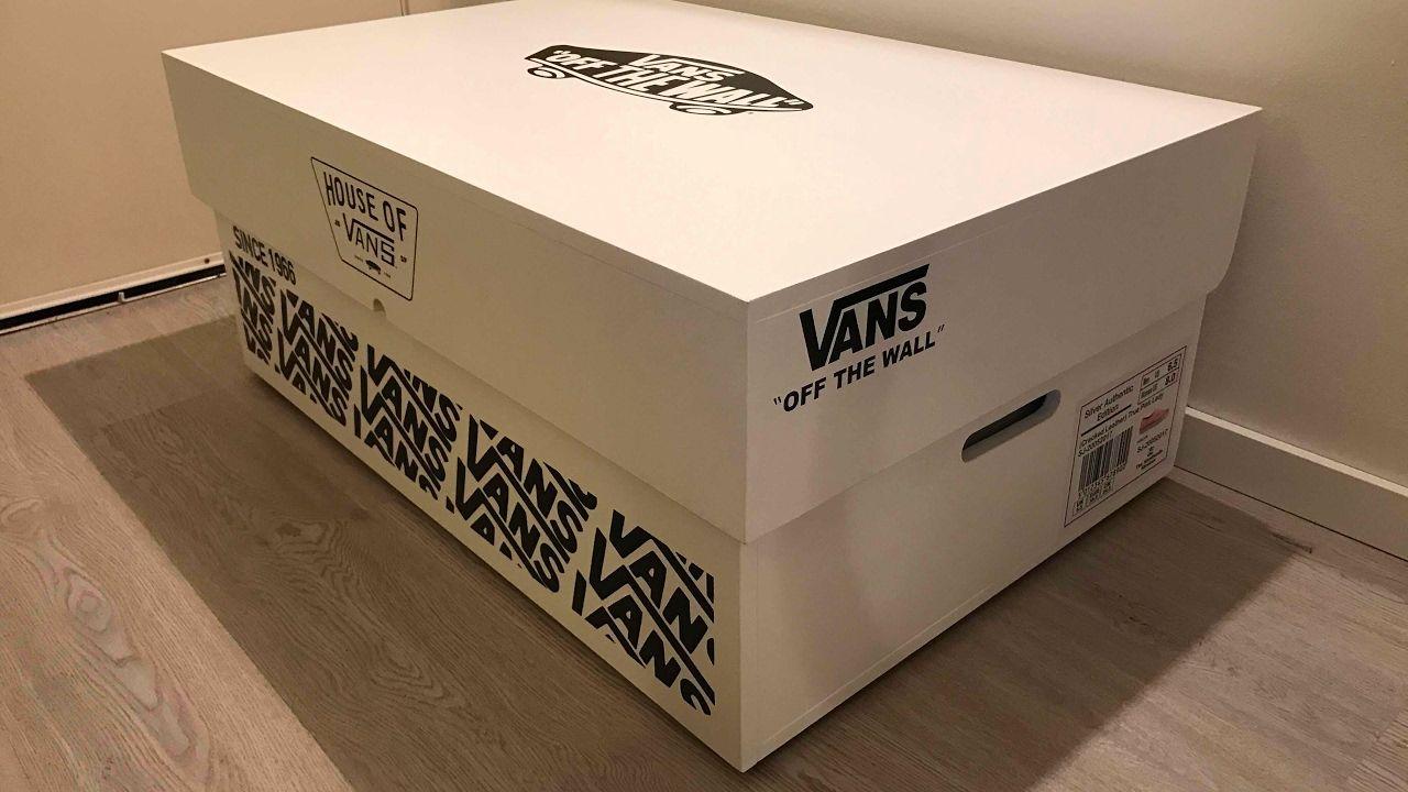 vans shoe box