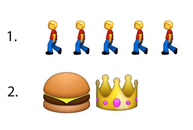 Can You Guess The Emoji Burger Chain Emoji Burger Guess The Emoji Emoji
