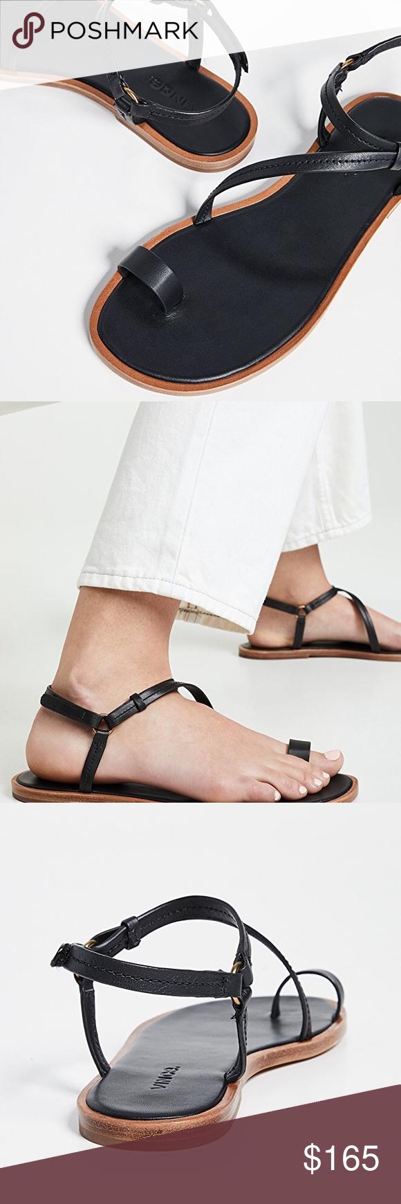Vince Perrigan Toe Ring Sandal Size 8